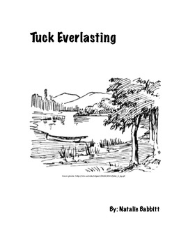 Tuck Everlasting Comprehension Packet