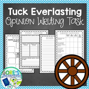 Tuck Everlasting Writing Task