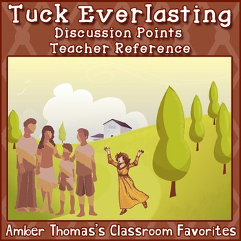 Tuck Everlasting Discussion Points {FREE}