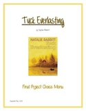 Tuck Everlasting Final Project