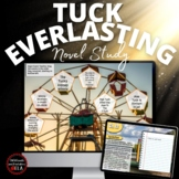 Tuck Everlasting Guided Novel Study: Google Slides-Google Classroom or Schoology