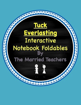 Tuck Everlasting Interactive Literature and Grammar Notebook Foldables
