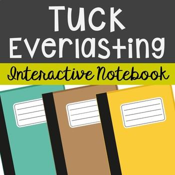 Tuck Everlasting Interactive Notebook Novel Unit Study Act