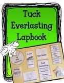 Tuck Everlasting Lapbook.  Reading Interactive Notebook.  Activities & Writing