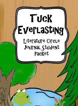 Tuck Everlasting Literature Circle Journal Student Packet