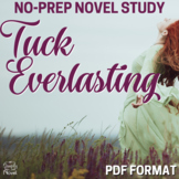 Tuck Everlasting Literature Guide: Novel Teaching Unit - Activities, Lessons