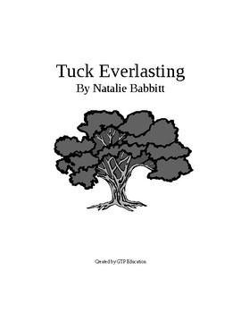 Tuck Everlasting Literature Unit
