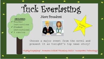 Tuck Everlasting News Broadcast