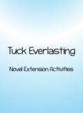 Tuck Everlasting Novel Extension Activities