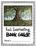 Tuck Everlasting Novel Study Book Guide