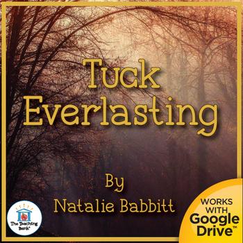 Tuck Everlasting Novel Study Book Unit Distance Learning