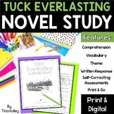 Tuck Everlasting Novel Study | Digital | Printable