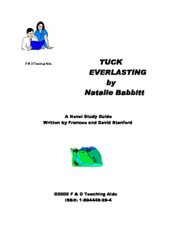 Tuck Everlasting Novel Study Guide