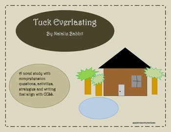 Tuck Everlasting Novel Study Packet