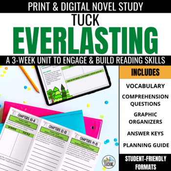 Tuck Everlasting Foldable Novel Study Unit