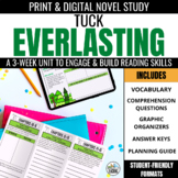 Tuck Everlasting  Novel Study Unit