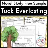 Tuck Everlasting Novel Study Unit: FREE Sample