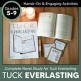 Tuck Everlasting Novel Study & Workbook