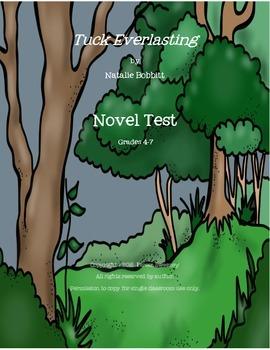 Tuck Everlasting Novel Test