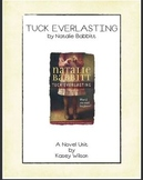 Tuck Everlasting Novel Unit (Common Core Aligned)