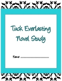 Tuck Everlasting Novel Study