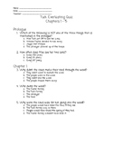Tuck Everlasting Chapter Quiz and Final Novel Project
