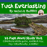 Tuck Everlasting Novel Unit