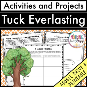Tuck Everlasting: Reading Response Activities and Projects