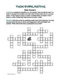 Tuck Everlasting: Simile Crossword--All Clues Are Similes!