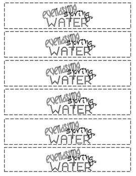 Tuck Everlasting - Spring Water Bottle Labels