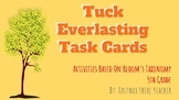 Tuck Everlasting Task Cards