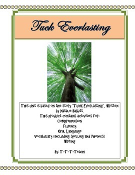 Tuck Everlasting Unit