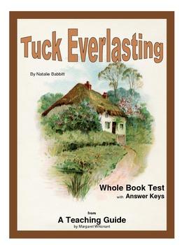 Tuck Everlasting  Whole Book Test