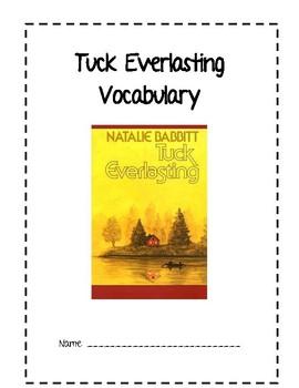 Tuck Everlasting Word Study