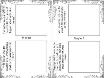 Tuck Everlasting by Natalie Babbitt {Sticky Note Comprehension Booklet}