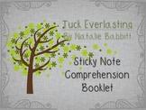 Tuck Everlasting by Natalie Babbitt {Sticky Note Comprehen