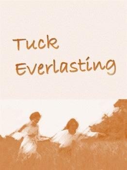 Tuck Everlasting vocabulary study