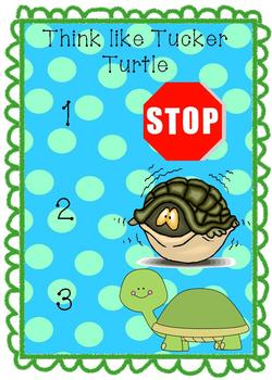 Tucker Turtle Social and Emotional Needs Anger Management ECE