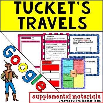 Tucket's Travels Journeys 5th Grade Unit 5 Google Drive Resource