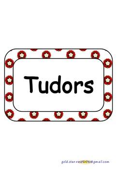 Tudor Topic Keywords for Display (Solid Writing)