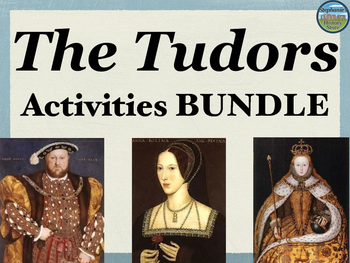 Tudors Activities Bundle