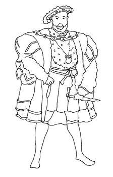 Tudors ClipArt Drawing Pack