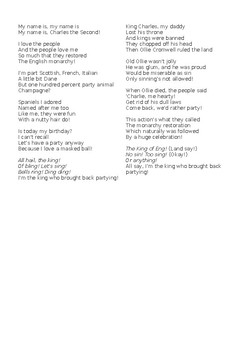 Tudors & Stuarts Assembly Song Lyrics