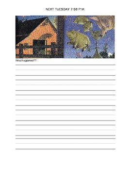 Tuesday David Wiesner Story Prediction Planner
