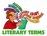 Tuesday Terms: Literary Terms Warm-up