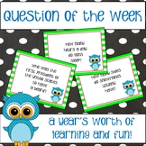 Question of the Week  - Trivia Questions and Display