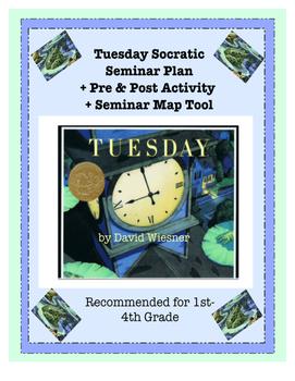 Tuesday by David Wiesner Socratic Seminar Plan + Extras