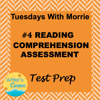 Digital Close Reading Assessment 4 Tuesdays With Morrie ISTEP 10 Prep
