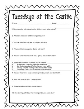 Tuesdays at the Castle Questions