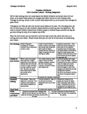 """Tuesdays with Morrie """"Life Lesson"""" Differentiated Writing Assignment Lesson Plan"""